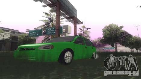 Chevrolet Corsa Wagon для GTA San Andreas вид изнутри