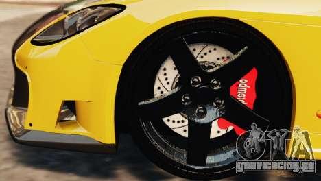 Mazda RX7 Veilside V8 для GTA 4 вид сверху