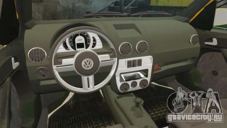 Volkswagen Parati G4 Track and Field 2013 для GTA 4 вид сбоку