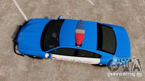 Dodge Charger 2013 LCPD [ELS] для GTA 4 вид справа