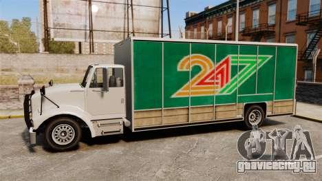Benson с новой рекламой для GTA 4 вид сзади слева