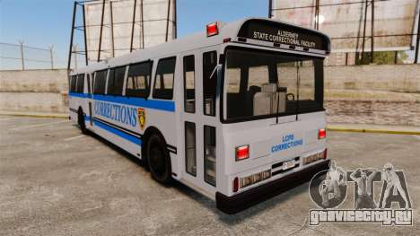 Brute Bus Corrections [ELS] для GTA 4