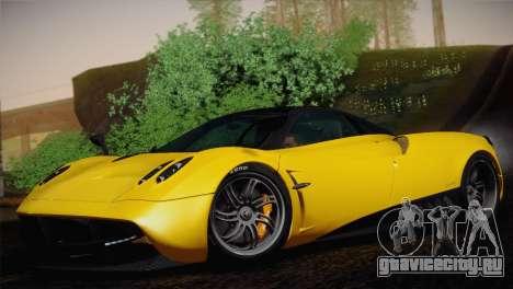 Pagani Huayra для GTA San Andreas вид сзади
