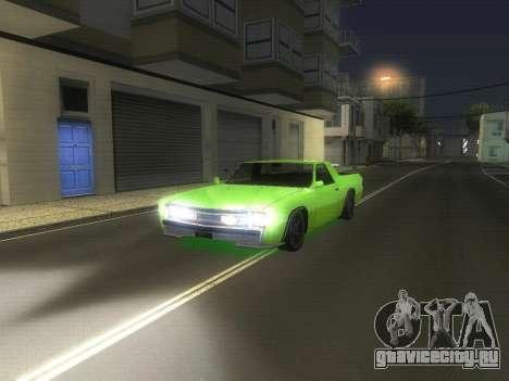 Drag Picador v1 для GTA San Andreas вид слева