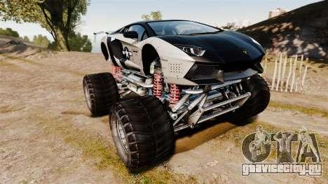 Lamborghini Aventador LP700-4 [Monster truck] для GTA 4