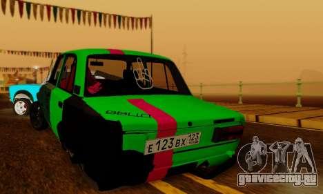 BMWAZ для GTA San Andreas вид сзади слева