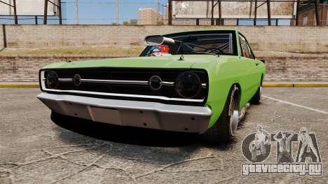 Dodge Dart 1968 для GTA 4