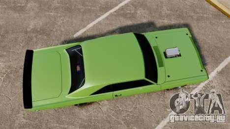 Dodge Dart 1968 для GTA 4 вид справа