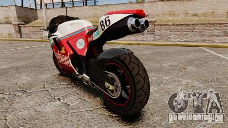 GTA IV TBoGT Pegassi Bati 800 для GTA 4 вид справа