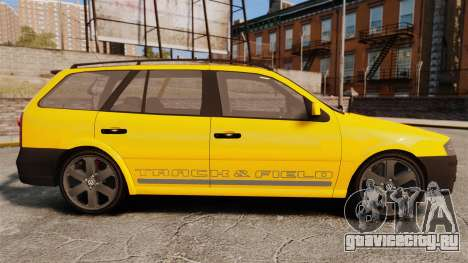 Volkswagen Parati G4 Track and Field 2013 для GTA 4 вид слева