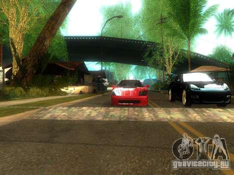 New Grove Street v2.0 для GTA San Andreas пятый скриншот