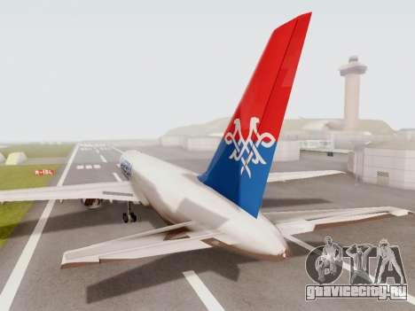Boeing 767-300 для GTA San Andreas вид справа