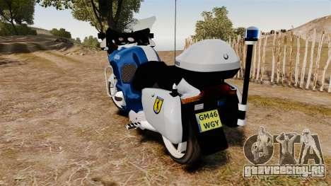 BMW R1150RT Portuguese Police [ELS] для GTA 4 вид справа