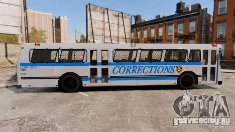 Brute Bus Corrections [ELS] для GTA 4 вид слева