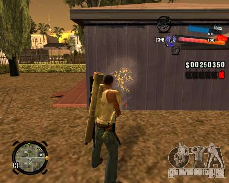Новый C-HUD для GTA San Andreas третий скриншот