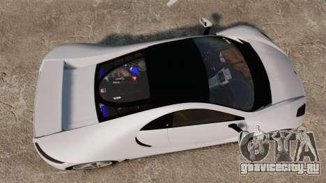 GTA Spano для GTA 4 вид справа
