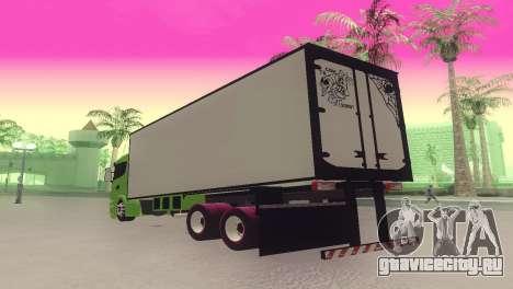Scania 310 Bau для GTA San Andreas вид слева