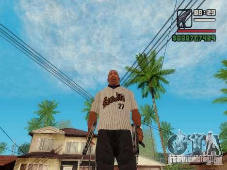 Пистолет-пулемёт UZI для GTA San Andreas шестой скриншот