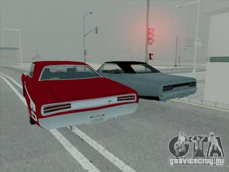 Plymouth Road RunneR GTX 1970 для GTA San Andreas вид сбоку