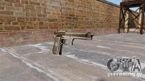 Самозарядный пистолет Beretta 92FS для GTA 4