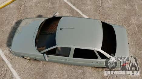 ВАЗ-2110 Bogdan 110 для GTA 4 вид справа