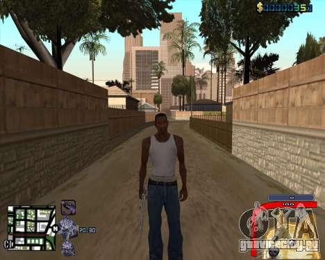 C-HUD by Mark Osborne для GTA San Andreas третий скриншот