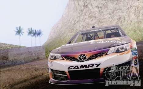 Toyota Camry NASCAR Sprint Cup 2013 для GTA San Andreas