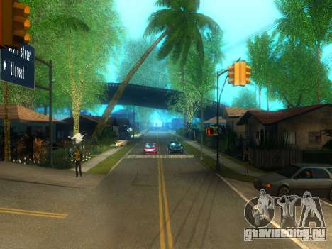 New Grove Street v2.0 для GTA San Andreas второй скриншот