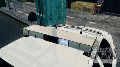 Ford Crown Victoria LCPD [ELS] для GTA 4 вид сзади слева