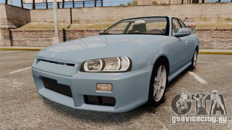 Nissan Skyline ER34 GT25 для GTA 4