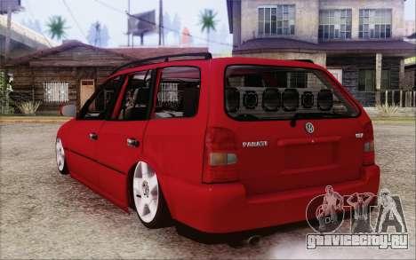 Volkswagen Parati SPS Club для GTA San Andreas вид слева