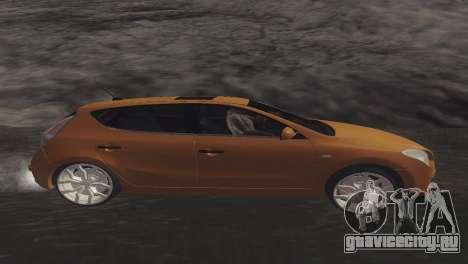 Hyundai i30 для GTA San Andreas вид слева