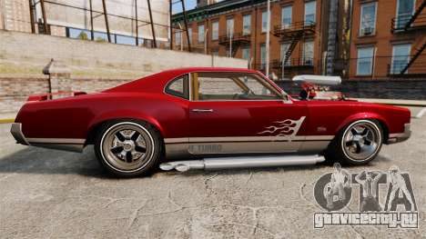 Declasse SabreGT Mexican Style для GTA 4 вид слева