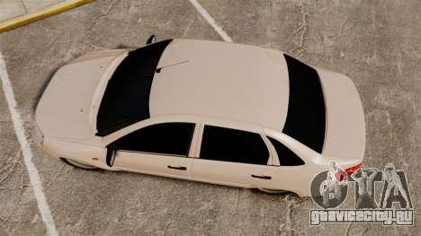 ВАЗ-2190 Lada Granta для GTA 4 вид справа