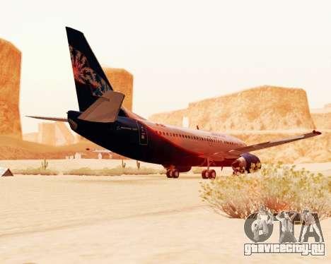 Boeing 737-500 Аэрофлот Норд для GTA San Andreas вид сзади