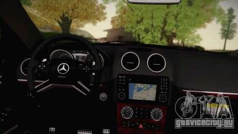 Mercedes-Benz ML63 для GTA San Andreas вид сзади