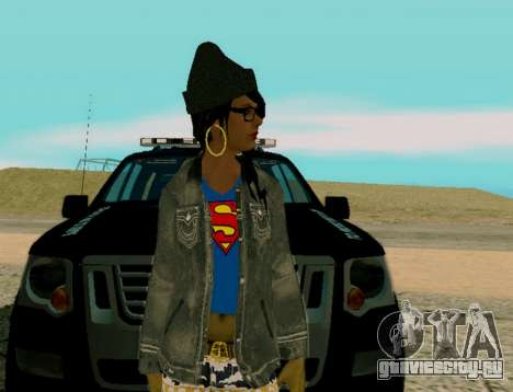 Girl Swagg для GTA San Andreas