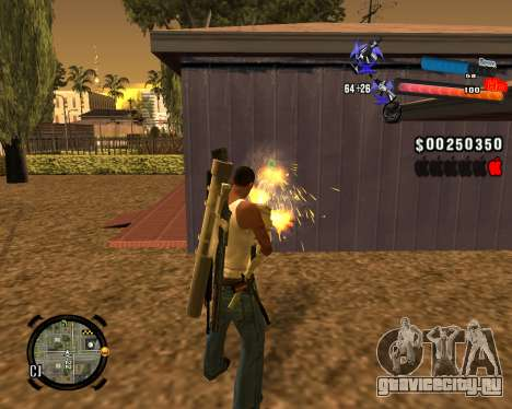 Новый C-HUD для GTA San Andreas второй скриншот