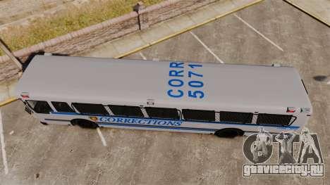 Brute Bus Corrections [ELS] для GTA 4 вид справа
