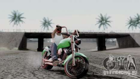 ENBSeries By AVATAR 4.0 Final для GTA San Andreas пятый скриншот