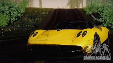 Pagani Huayra для GTA San Andreas вид справа
