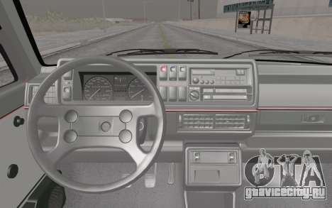 Volkswagen Golf Mk 2 для GTA San Andreas вид справа