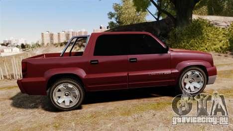 GTA V Albany Cavalcade FXT для GTA 4 вид слева