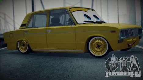 ВАЗ 2106 The Cars для GTA San Andreas вид слева