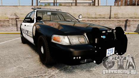 Ford Crown Victoria LCPD [ELS] для GTA 4