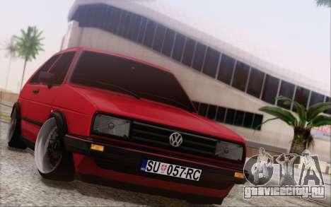 Volkswagen Golf Mk 2 для GTA San Andreas