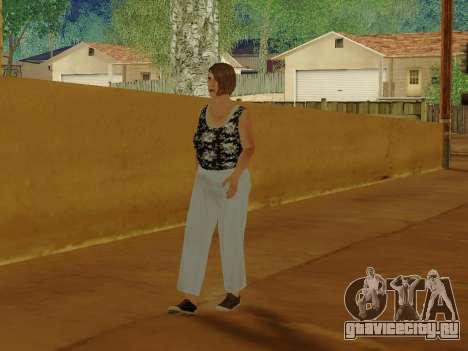 Пожилая женщина v.2 для GTA San Andreas шестой скриншот
