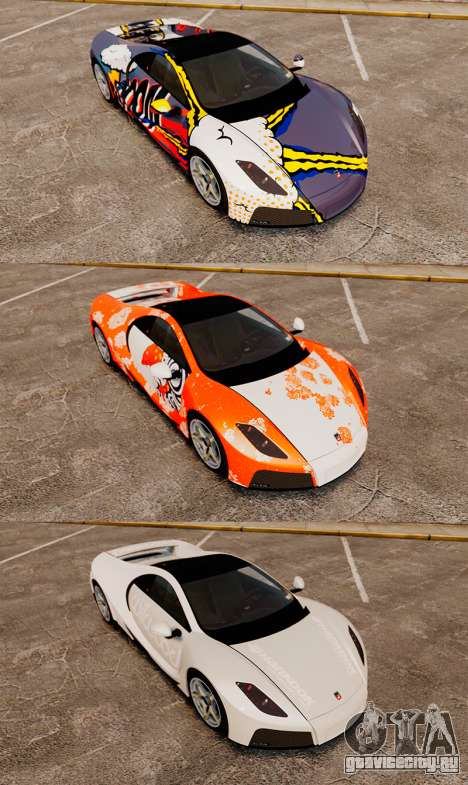 GTA Spano для GTA 4 салон