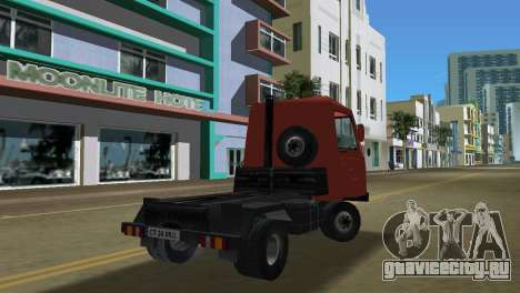 Multicar для GTA Vice City вид изнутри