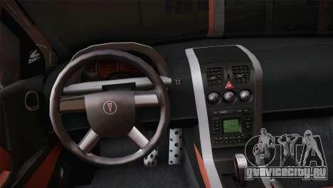 Pontiac GTO 2005 для GTA San Andreas вид сзади